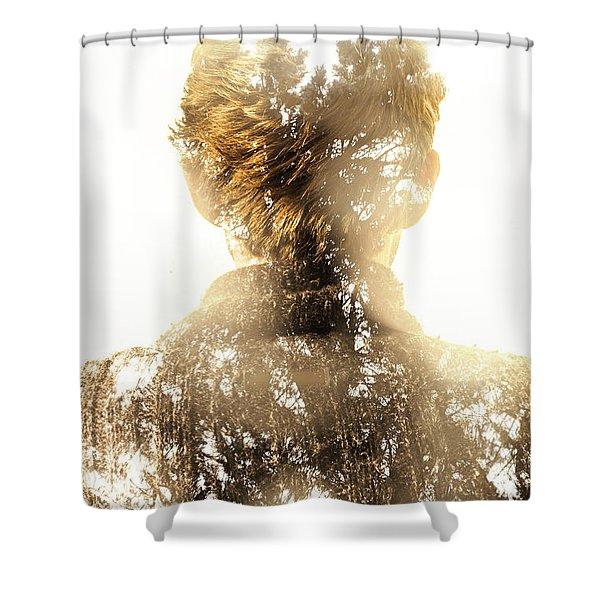 Finding Spirit Within Shower Curtain