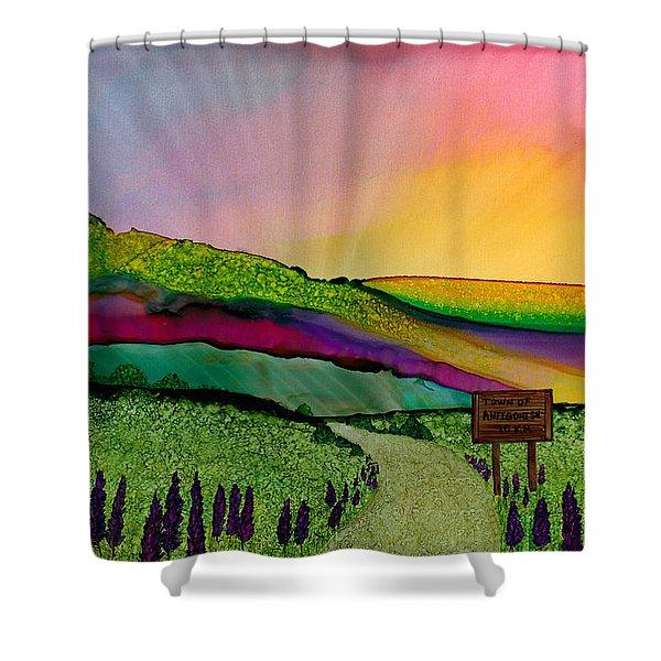 Find The Way Antigonish Ns Shower Curtain