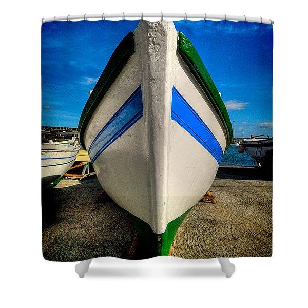 Fine Art Colour-108 Shower Curtain