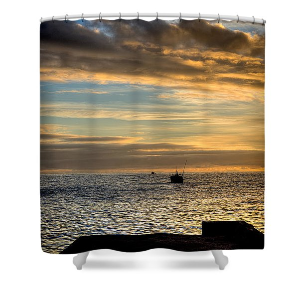 Fine Art Colour-138 Shower Curtain
