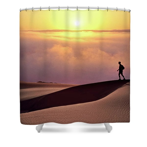 Finge Benefits Shower Curtain