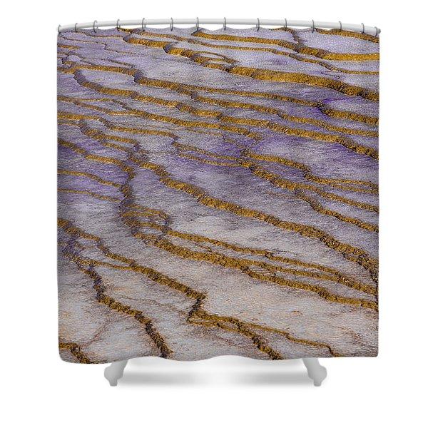 Fingerprint Of The Earth Shower Curtain
