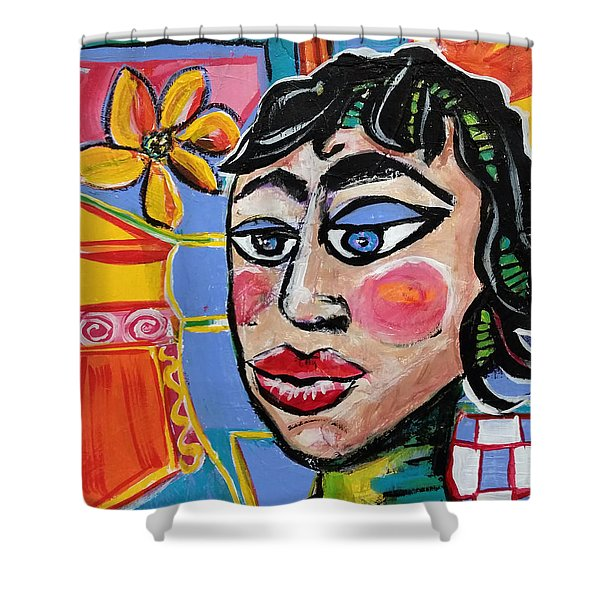 Fiona - Vivid Vixen 6 Shower Curtain