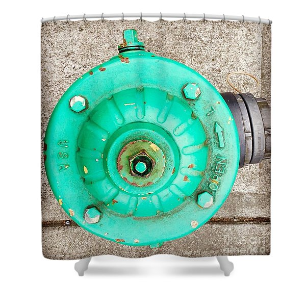 Fire Hydrant #6 Shower Curtain