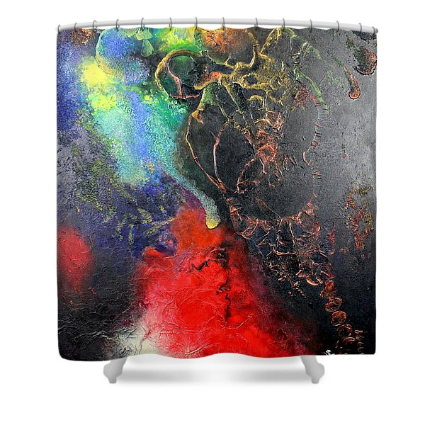 Fire Of Passion Shower Curtain