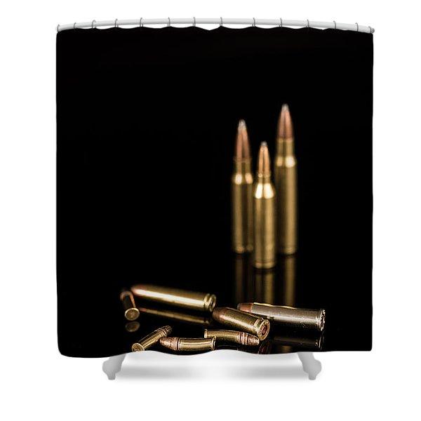 Fire Off Your Guns Shower Curtain