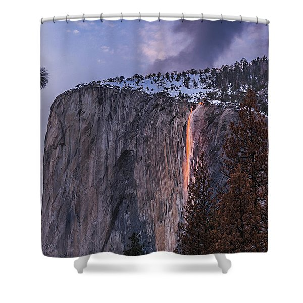 Firefall Shower Curtain