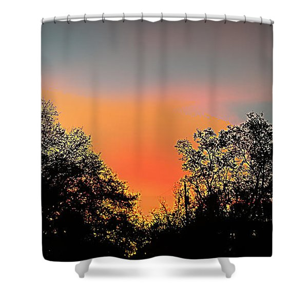 Firefly Shower Curtain