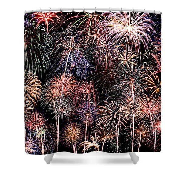 Fireworks Spectacular II Shower Curtain