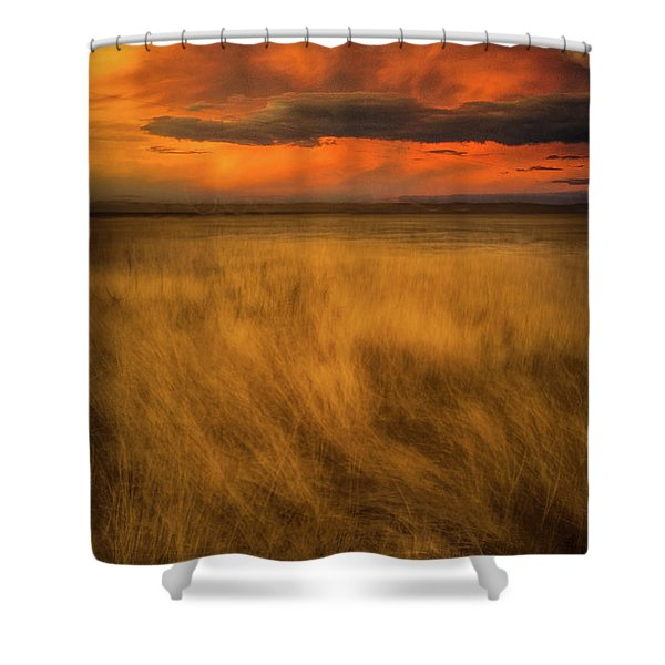 First Encounter 2 Shower Curtain