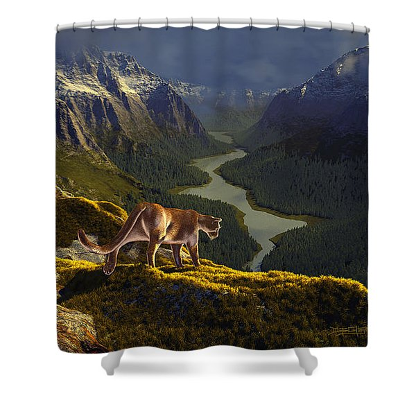 First Interlude Shower Curtain