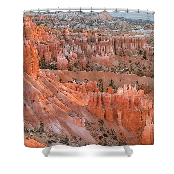 First Light, Bryce Canyon National Park Shower Curtain