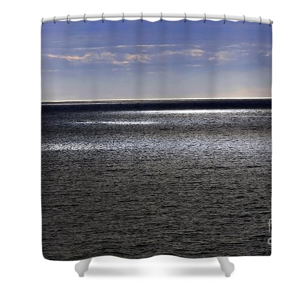 Shower Curtain featuring the photograph First Light by Gerlinde Keating - Galleria GK Keating Associates Inc