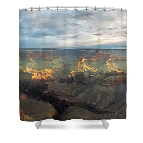 First Light In The Canyon Shower Curtain