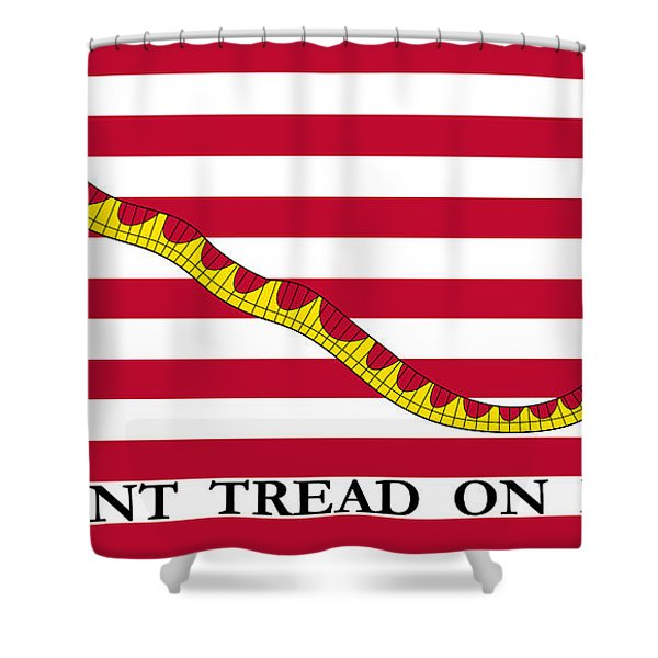 First Navy Jack Shower Curtain