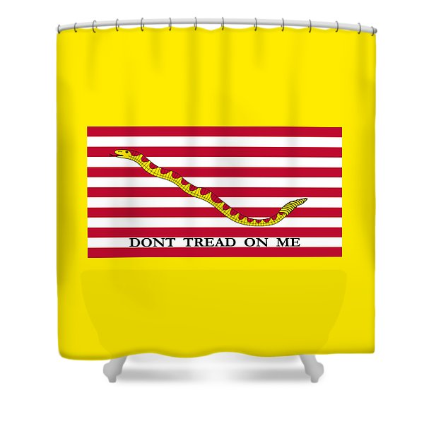 First Navy Jack Shower Curtain
