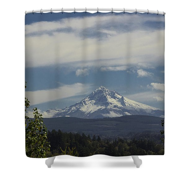 First Snow Signed Shower Curtain
