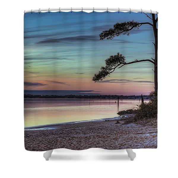 First Sunset Shower Curtain