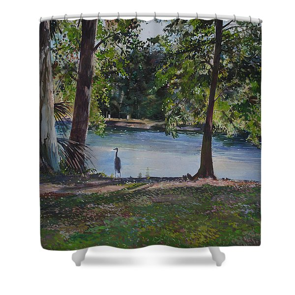 Fish Hunter's Of Palmetto Dunes Shower Curtain