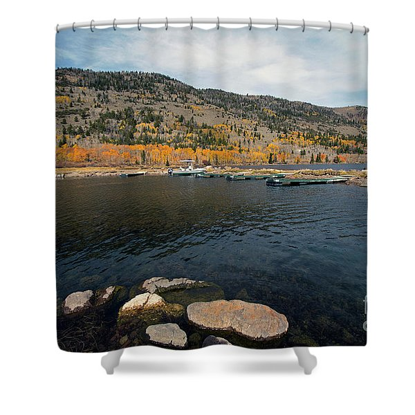Fish Lake Ut Shower Curtain