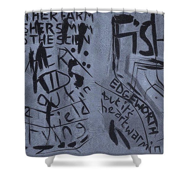 Fisher Covers Unmasked Shower Curtain