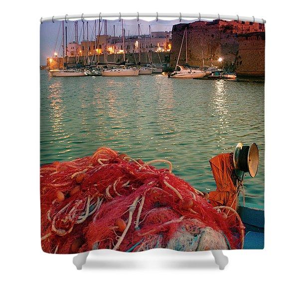 Fisherman's Net Shower Curtain