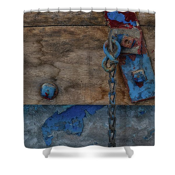 Shower Curtain featuring the photograph Fishing Boat 5 by Heather Kenward