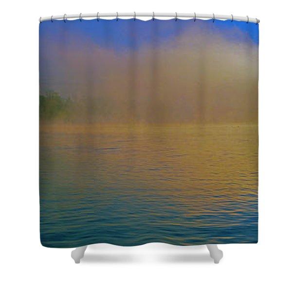 Fishing Boat Day Break  Shower Curtain
