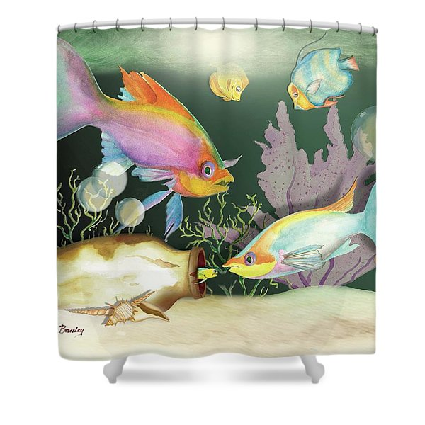 Fishing Expedition Shower Curtain