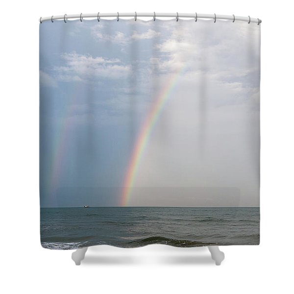 Fishing For A Pot Of Gold Shower Curtain