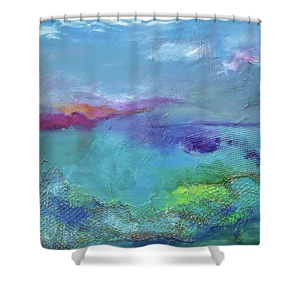Fishing In Sorrento Shower Curtain