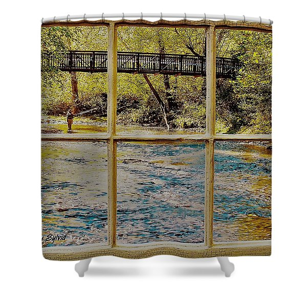 Fishing Shower Curtain