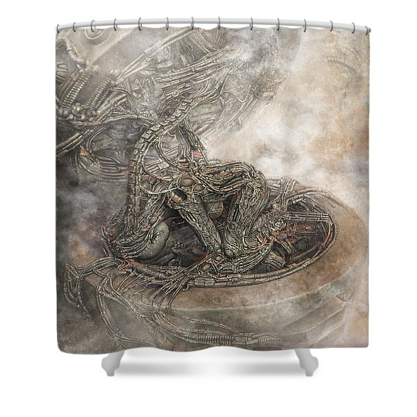 Fit Into The System Shower Curtain