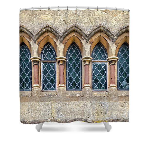 Five Little Arches Shower Curtain