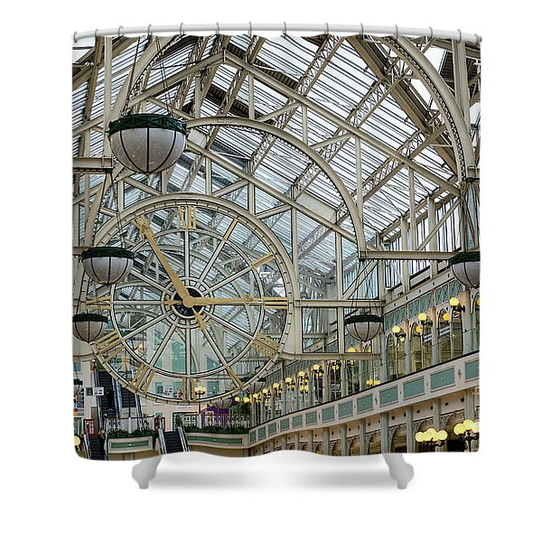 Five To Three - At St. Stephens Green Shopping Centre In Dublin Shower Curtain