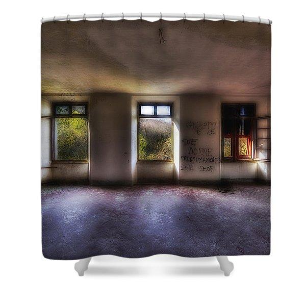 Five Windows On The Wood - Cinque Finestre Sul Bosco Shower Curtain