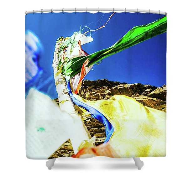 Flags Of Many Colours Shower Curtain