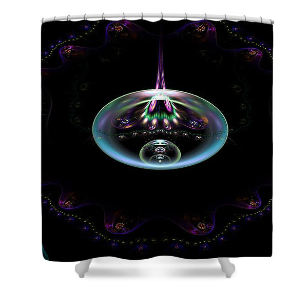 Flame Element Shower Curtain