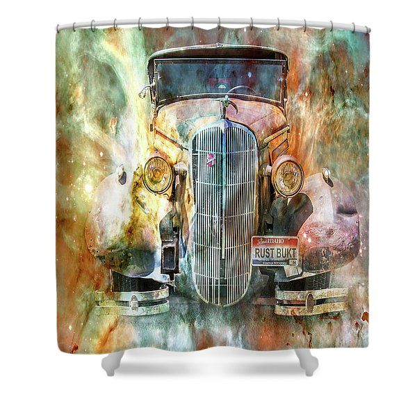 Flames Of Glory Shower Curtain