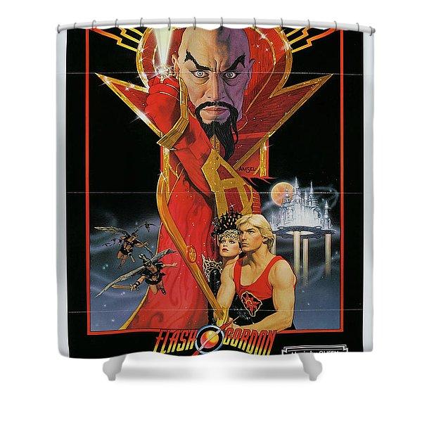 Flash Gordon Shower Curtain