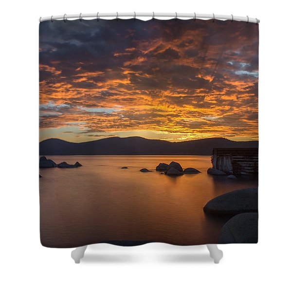 Fleeting Moments Shower Curtain