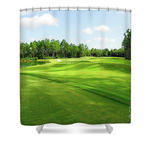 Fleming Island Golf Club Shower Curtain