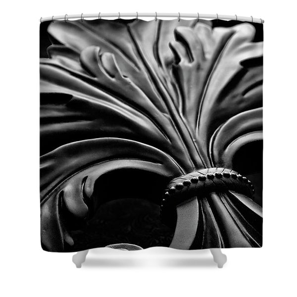 Fleur De Lis II Shower Curtain