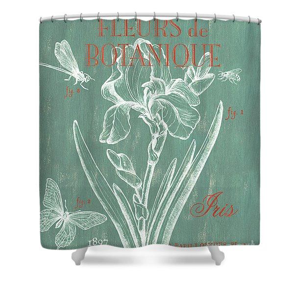 Fleurs De Botanique Shower Curtain