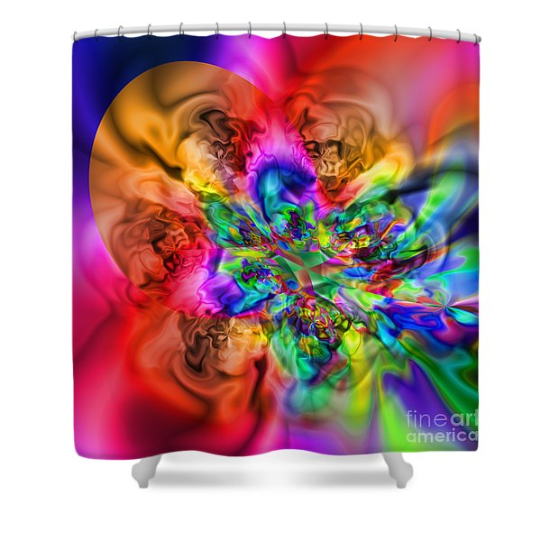 Flexibility 17ca Shower Curtain