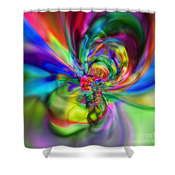Flexibility 17caa Shower Curtain