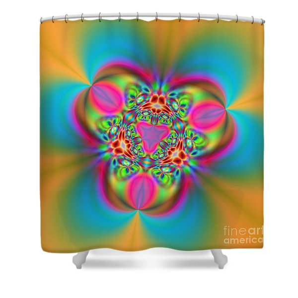 Flexibility 18ba Shower Curtain