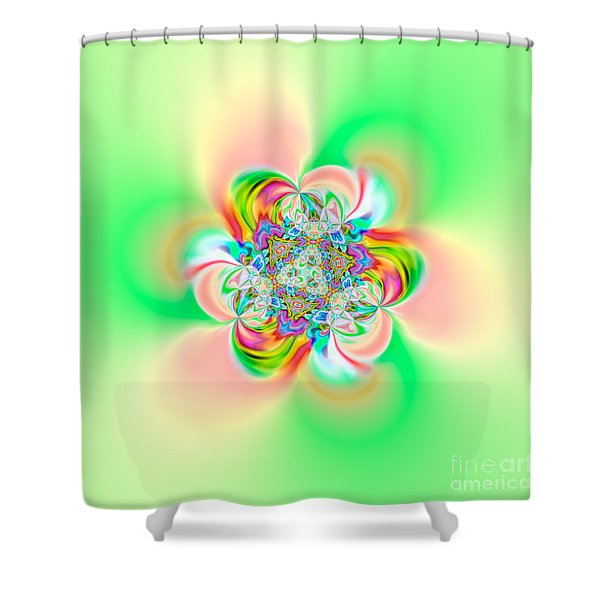 Flexibility 39e2 Shower Curtain