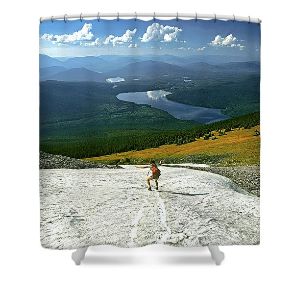 Flight Risk Shower Curtain