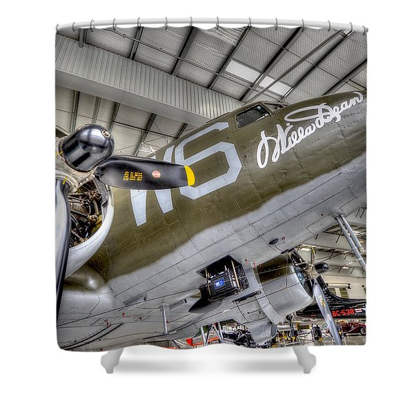 Flight Time Shower Curtain